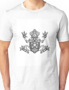Frog Zentangle Unisex T-Shirt