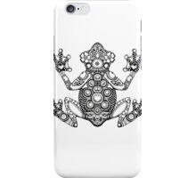Frog Zentangle iPhone Case/Skin