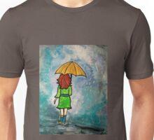Walking in the Rain Unisex T-Shirt