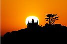 Battery Point Lighthouse at Sunset.  by Alex Preiss