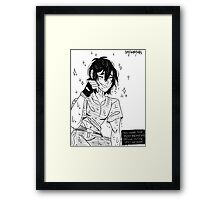 """Keith """"Most beautiful smile"""" Framed Print"""