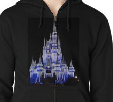 Ice Covered Castle Zipped Hoodie