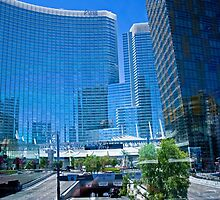 Aria Hotel & Casino, Las Vegas, Nevada by Buckwhite