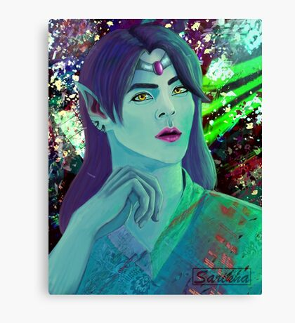 Forest Elf Prince Canvas Print