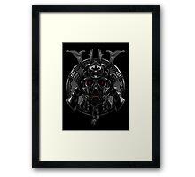 Samurai Darth Vader Framed Print
