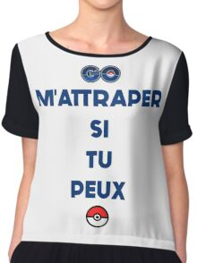 Pokémon - Go M'Attraper Si Tu Peux Chiffon Top