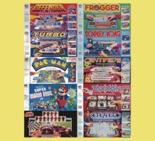 Arcade Board Games Kids Tee