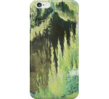 Grassy side of the ditch iPhone Case/Skin