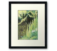 Grassy side of the ditch Framed Print