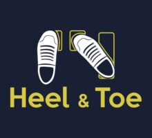 Heel & Toe (1) One Piece - Short Sleeve