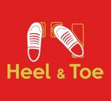 Heel & Toe (1) Baby Tee