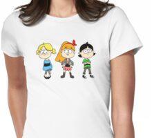 Powerpuff Falls Womens Fitted T-Shirt