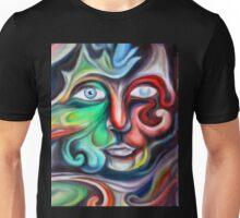 A Face of Swirls Unisex T-Shirt