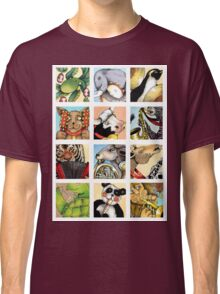 Animal Musicians Montage Classic T-Shirt