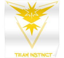 Team Instinct Poster