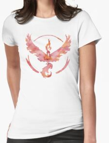 Valor (white) Womens Fitted T-Shirt