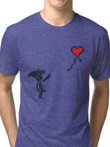 Banksy Zelda Tri-blend T-Shirt