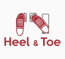 Heel & Toe (2) One Piece - Short Sleeve