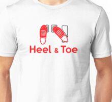 Heel & Toe (2) Unisex T-Shirt