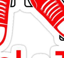 Heel & Toe (2) Sticker