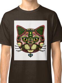Zentangle Cat Design Classic T-Shirt