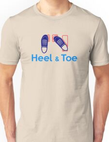 Heel & Toe (3) Unisex T-Shirt