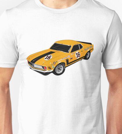 1970 Mustang Boss 302 Trans Am Unisex T-Shirt