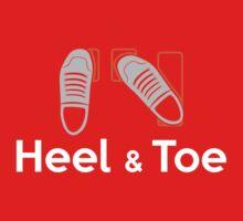 Heel & Toe (4) One Piece - Short Sleeve
