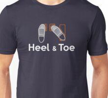 Heel & Toe (4) Unisex T-Shirt