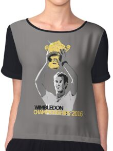 Andy Murray Wimbledon Champions 2016 Chiffon Top
