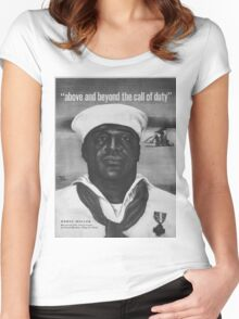 Vintage poster - Pearl Harbor Women's Fitted Scoop T-Shirt