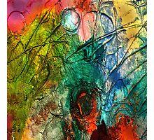 Mixed media 15 by rafi talby Photographic Print