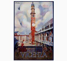 Vintage Vicenza Italy Travel Unisex T-Shirt