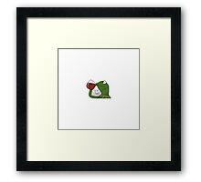 Tea Lizard? Framed Print