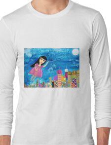 The Moon is my Balloon Long Sleeve T-Shirt