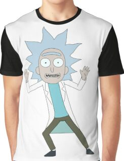 Tiny Rick - Rick and Morty Graphic T-Shirt