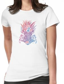 Corset Garden Womens Fitted T-Shirt