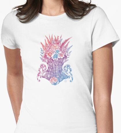 Corset Garden Womens Fitted T-Shirt