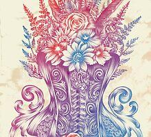 Corset Garden by Jill Sanders