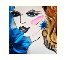 Girl Chic Art Print