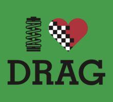 I Love DRAG (1) Kids Clothes