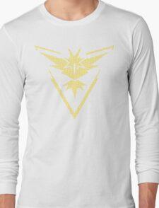 Team Instinct Word Pattern Long Sleeve T-Shirt