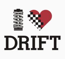 I Love Drift (1) Kids Clothes