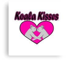 Koala Kisses  Canvas Print