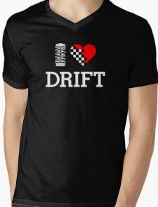 I Love Drift (2) Mens V-Neck T-Shirt