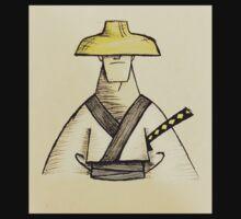 Samurai Jack Watercolor Kids Tee
