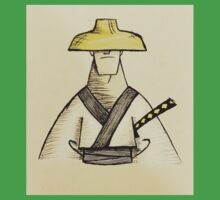Samurai Jack Watercolor One Piece - Short Sleeve