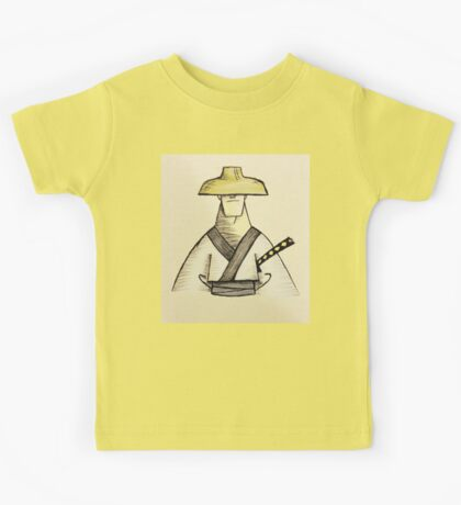 Samurai Jack Watercolor Kids Tee
