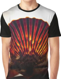 Seashell In German Flag's Colors - 'Made In Germany'   Orient, New York Graphic T-Shirt
