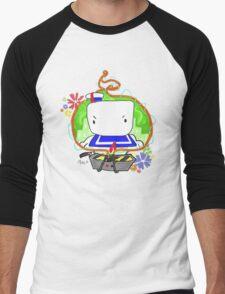 Marshmallow Trap Men's Baseball ¾ T-Shirt
